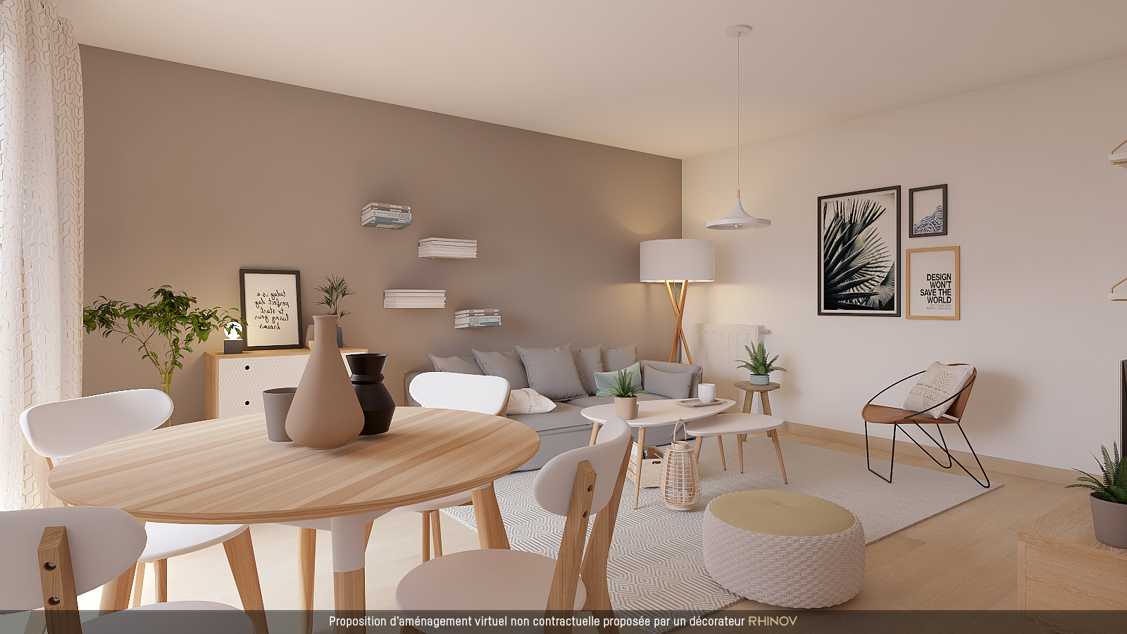 Home staging Aménagement virtuel
