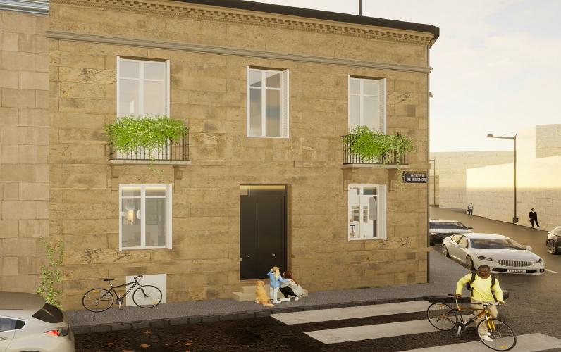 Bordeaux Caudéran, demeure bourgeoise, rénovée
